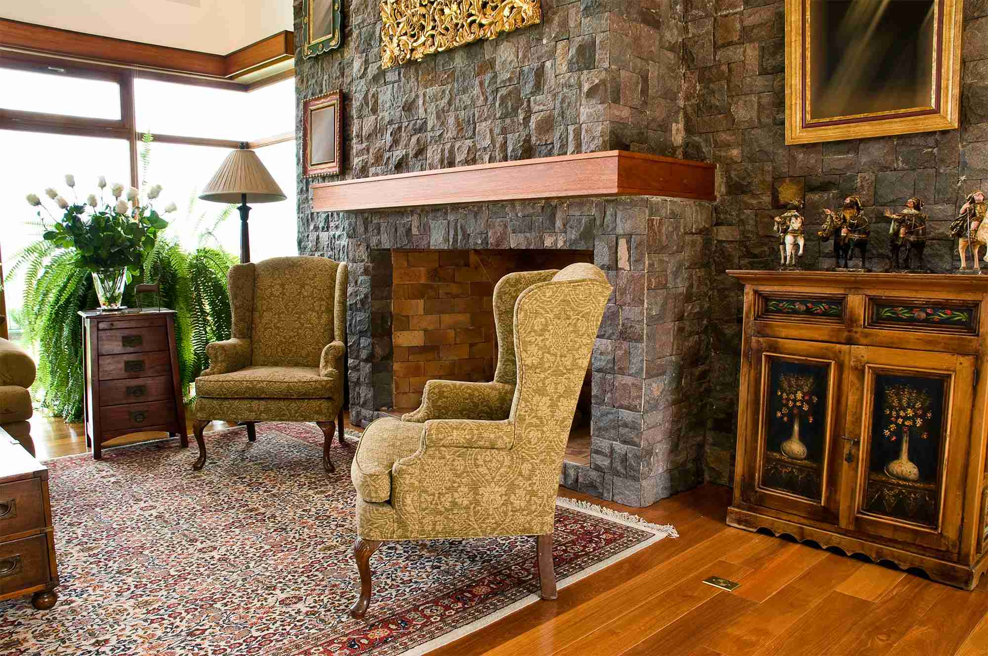 Home Interior with Estate Sale Furniture